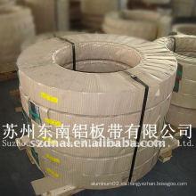 Corte de tiras de aluminio 1100