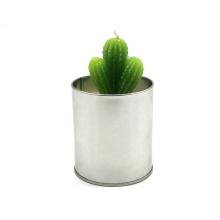 Украшение для дома искусственные зеленые растения свечи
