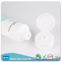 Gravure à chaud à l'impression en plastique tube cosmétique pour la colle au baume pour lèvres faciales