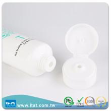Hot stamping printing plastic cosmetic tube for facial cream lip balm glue