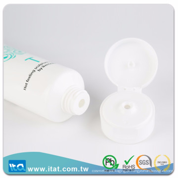 Hot stamping printing plastic cosmetic tube for facial cream lip balm colle
