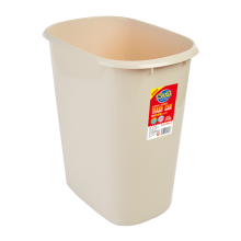 8327 15L simple type plastic trash can