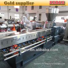 Máquina del masterbatch del llenador del caco3 de la alta calidad / línea de pelletizing