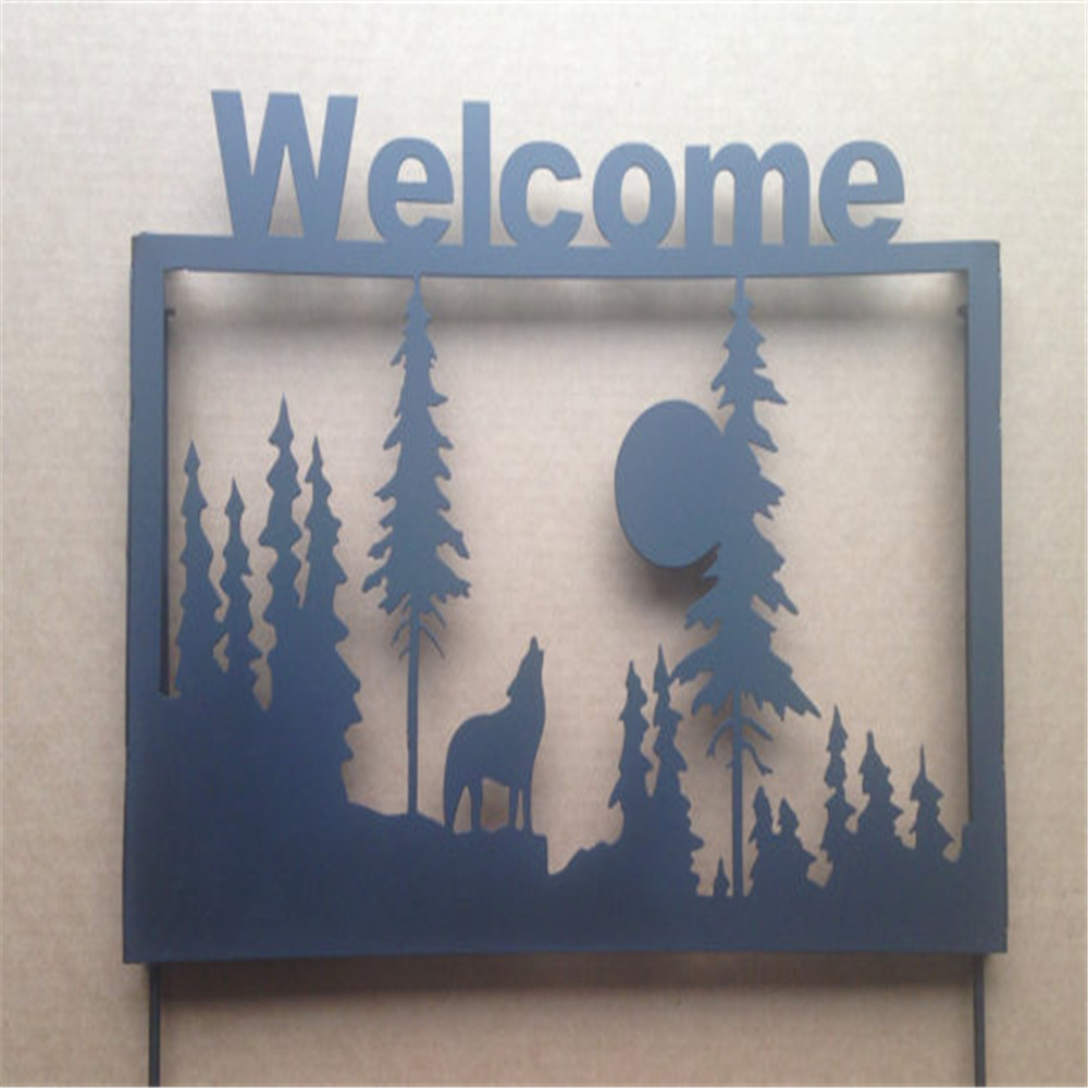 Laser Cut Sheet Metal Art