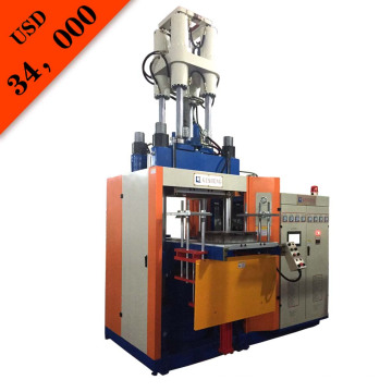 Machine de moulage par injection verticale en caoutchouc (KSU-200T)