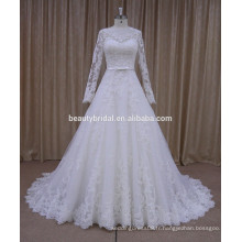 Robe de mariée à manches longues nectarean MARNEA