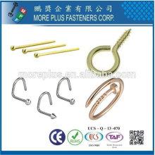 Taiwán Compras en línea de acero inoxidable chapado en oro joyería tornillos