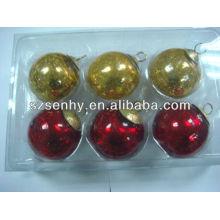 2013 crackle glass balls