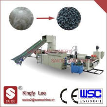 PP PE water cut ring plastic recycling pellet machine