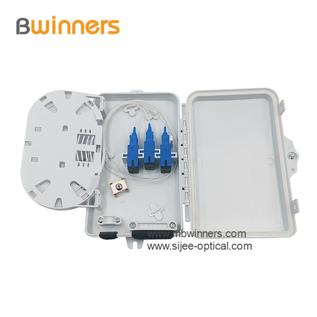 fiber wall mount splice panel