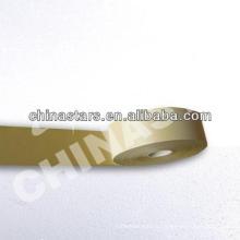EN ISO 20471: 2013 TC ou 100% polyester High viz ruban réfléchissant en or