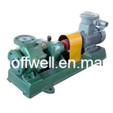 Pompe chimique centrifuge de preuve d'acide fluorhydrique en plastique d'IHF