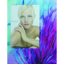Silk Printing Glass Photo Frame
