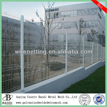 bending welded pvc coated mesh box wire fence