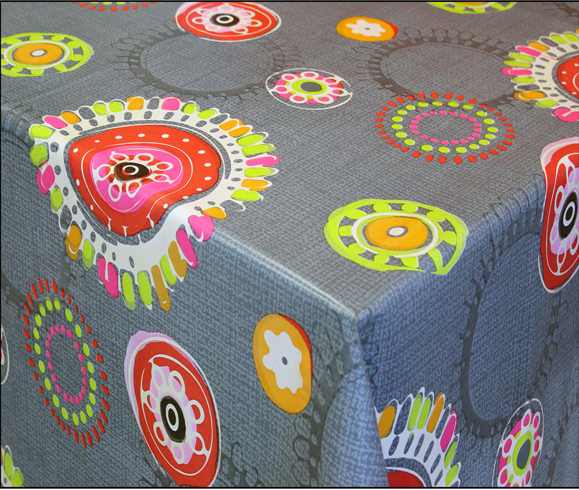Tablecloth With Fabric Backing
