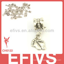2013 New Fashion footprint charms 925 silver pendant charms