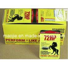 72HP sexe Male Enhancer supplément pilule