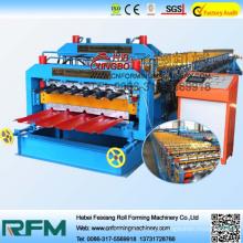 Máquina de formação de folha de cobertura de aço FX