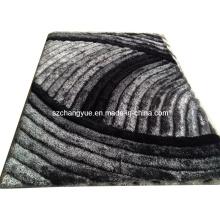 Высококачественный полиэстер Современные мохнатые ковры