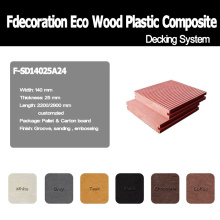 Outdoor Eco WPC Flooring Wood Plastic Composite
