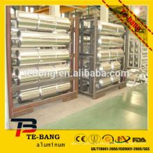 Utilización en el hogar cocina de alimentos cocina de grado alimentario rollo de aluminio industrial con buena calidad