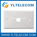 Mur Face plaque RJ45 Port unique 1 Port 70 * 115MM