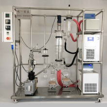 Precise pharmaceutical short-path molecular distillation