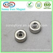 powerful countersunk neodymium ring magnets