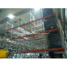 Warehouse Storage Picking System with Flow Gravity Roller Shelf
