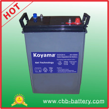 Оптовая цена 420ah 6В e-Шины и морской глубокий цикл батареи