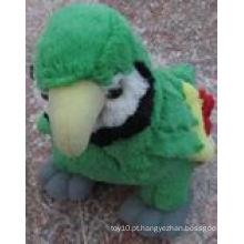 Bonito visual de alta qualidade brinquedos de papagaio recheado