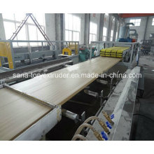 800mm Wood Plastic WPC Hollow Door Board Extrusion Machine