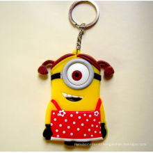 Custom Promotional Non-Toxic Silicone Keychain Manufacturers