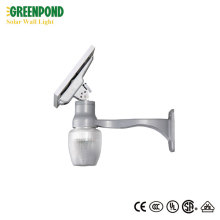 Solar Wall Lamp with Aluminum-magnesium Alloy Arm