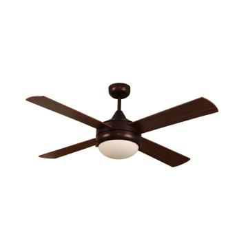Faible consommation d'énergie 4 ventilateurs de plafond d'intérieur de lame pour le restaurant