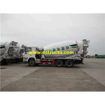 14 CBM SHACMAN Mixer Cement Trucks