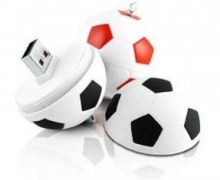 Factory Directly Plastic Football Customized Usb Flash Drive With Samsung Chip (my-u091)