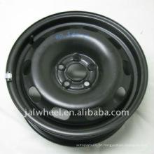 Certificação CE 14 Inch Black Snow Wheels para o carro do passageiro