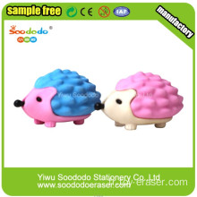 3D Art Hedgehog Animal Eraser