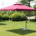 Пользовательские шелковые печати Открытый сад зонтик