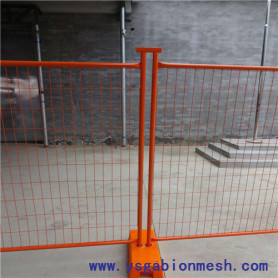 Australia temporary fencing with plastic holders