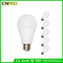 Горячая Продажа логотип индивидуальные 9ВТ E27 светодиодные лампы