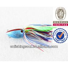 MJL040 pêche bon marché tout leurre de pêche lueur en gros plomb métal gabarit de pêche