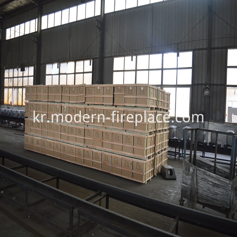 Wood Burning Steel Fireplace China CE Certification