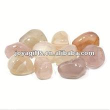 Piedra de piedra blanca natural de alta piedra pulida