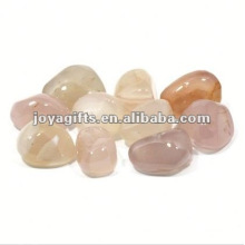 High Polished Gemstone natural white pebble stone