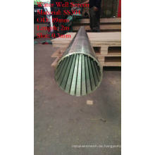 Zylinder Typ Johnson Screen Tube