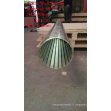 Type de cylindre Johnson Screen Tube