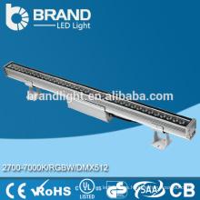 Buena calidad Arandela de la pared de DMX512 36W RGBW LED, arandela de la pared de IP67 LED, CE RoHS