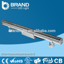 Bonne qualité DMX512 36W RGBW LED Wall Washer, IP67 LED Wall Washer, CE RoHS